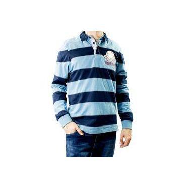 Camisa Polo Masculina Beagle Manga Longa 08202c3fa182e