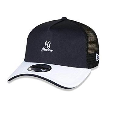 Boné 9Forty A-Frame Trucker MLB Yankees Alkaline Bright New Era