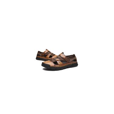 Sapatos casuais moda primavera masculino sandálias respiráveis Comfortab