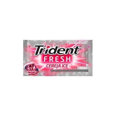 Chiclete de Cereja Fresh 8g - 21 unidades - Trident