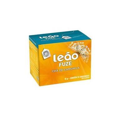 Chá de camomila - com 15 unidades - Leão Fuze