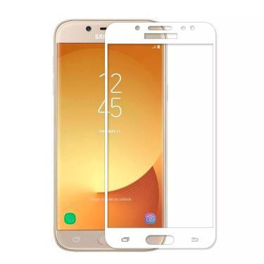 Película de Vidro 3D Samsung Galaxy J7 Pro - Branco