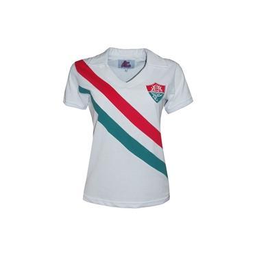 Camisa Liga Retrô Fluminense 1969 Feminino