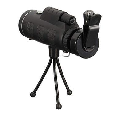Imagem de Homyl óptico De 40X60 Lente HD Telescópio Monocular + Tripé + Clipe Para Telefone Inteligente