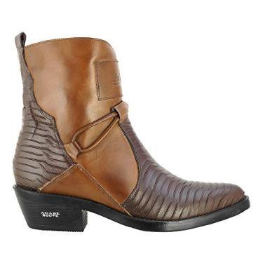 Bota Texana Hb Agabe Boots 100.002p - Lt Cafe+marrom - Sola de Borracha Bota Texana Hb Agabe Boots 100.002p - Lt Cafe+marrom - Numero:37