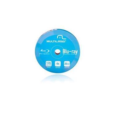 Midia DVD-R Blue Ray Pino com 10 Unidades - Dv057 - Multilaser