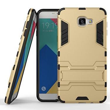 SCIMIN Capa para Samsung Galaxy A9 Pro, capa híbrida para Galaxy A9 Pro, capa híbrida de proteção de camada dupla, capa rígida com suporte para Samsung Galaxy A9 Pro de 6 polegadas