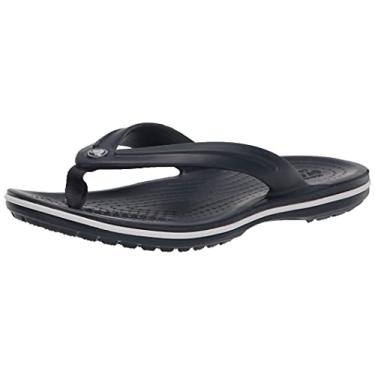 Imagem de Chinelo Crocband Flip, Crocs, Adulto Unissex, Navy, 32