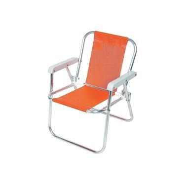 Cadeira de Praia Infantil Alumínio CAD032 Botafogo Lar & Lazer Sortida
