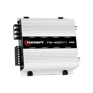 Módulo Amplificador Taramps TS 400x4 400W 4 Canais 2 Ohms