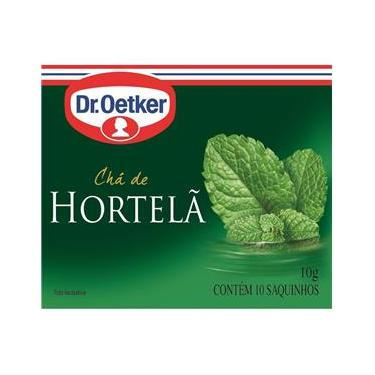 Cópia -  Chá De Hortelã Dr. Oetker Kit C/ 2 Unidades