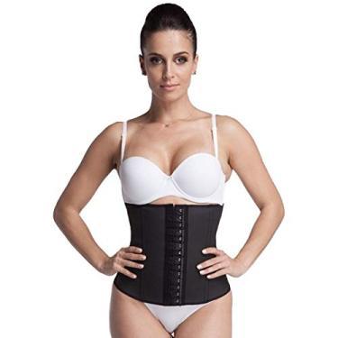 Cinta Modeladora Emborrachada Esbelt - Cotton shaper feminino REF 404
