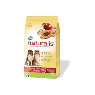 Ração Total Naturalis Frango, Peru e Frutas para Cães Adultos - 2 Kg