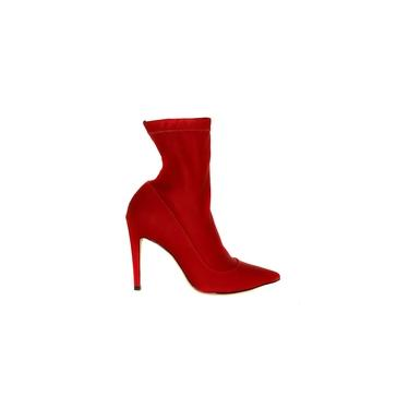 Bota Luiza Barcelos Vermelha