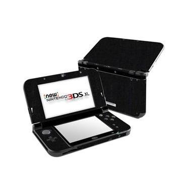Skin Adesivo Protetor New Nintendo 3DS XL (Preto Fosco)