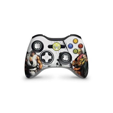 Skin Adesivo Para Xbox 360 Controle - Street Fighter 4 #a