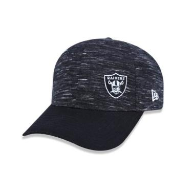 Boné Aba Curva Oakland Raiders Flame Mini BON160 New Era - Preto 550c6552ce0