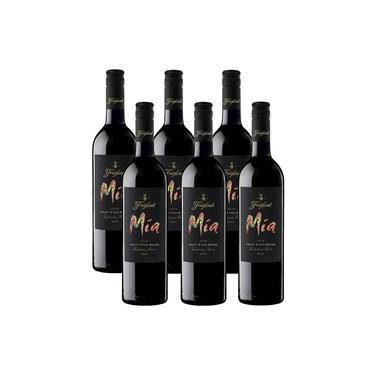 Kit 6 Vinho Tinto Espanhol Freixenet Mia Red 750ml