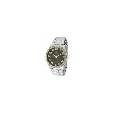 058f67589cb Relógio Champion Feminino Ref  Cn29810o Casual Bicolor