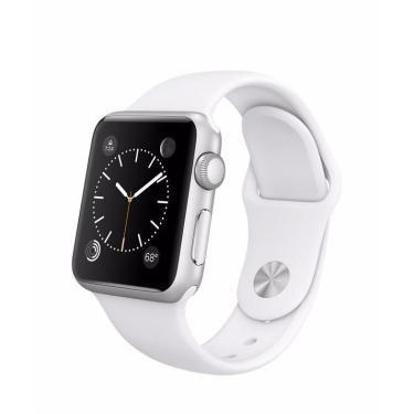 Pulseira Esportiva Apple Watch Series 1 2 3 4 38mm  Branca