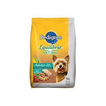 Ração p/ Cães Equilíbrio Natural - Raças Pequenas 15 kg - Pedigree
