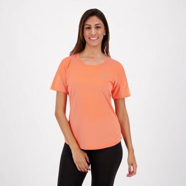 Camiseta Fila Basic Sports Feminina Coral - GG