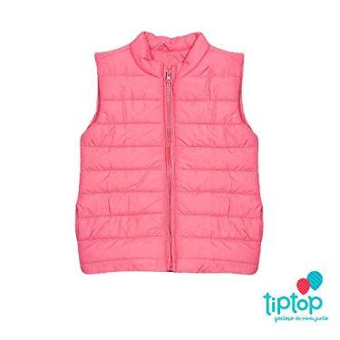 Colete Infantil Rosa Menina Outono Inverno Tip Top - 8
