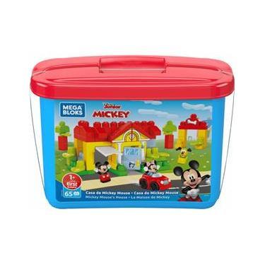Imagem de Casa Do Mickey Mouse Mega Blocks Disney - Mattel GYH71
