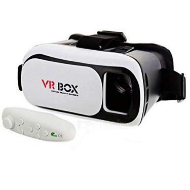 Óculos 3D VR Box Realidade Virtual com controle Bluetooth 2.0