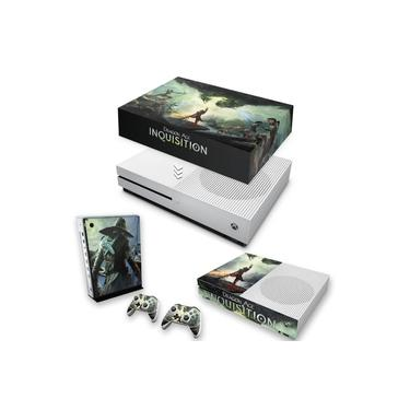 Capa Anti Poeira e Skin para Xbox One S Slim - Dragon Age Inquisition