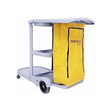 Imagem de Carrinho Funcional Para Produtos e Acessórios De Limpeza