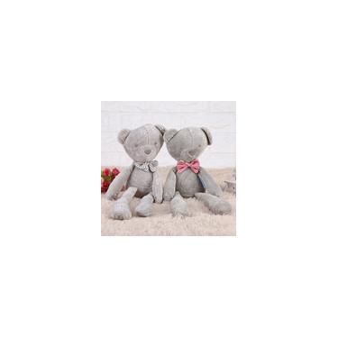 Imagem de Urso fofo quente brinquedo de pelúcia macio de algodão animal de pelúcia bebê crianças presente boneca de animais