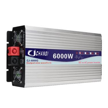 Inversor 60HZ Inversor de onda senoidal pura solar inteligente DC 12V / 24V para AC 110V 3000W / 4000W / 5000W / 6000W C Banggood
