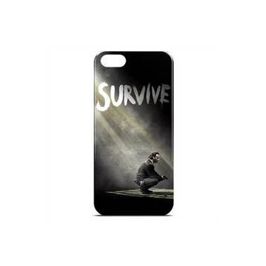 Capa Para Iphone 6 De Plástico - The Walking Dead   Survive
