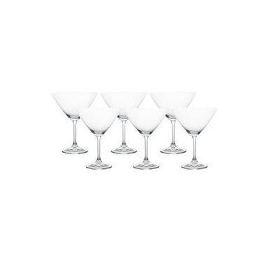 Jogo 6 TaÇAs Em Cristal Para Martini 280ML Gastro - Bohemia
