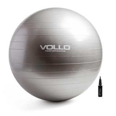 Bola Suiça Para Pilates E Ginastica Gym Ball 65cm - Vollo 58bf9d065cfea