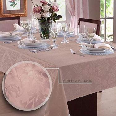 Imagem de Toalha de mesa Retangular em Jacquard para 10 lugares | Admirare