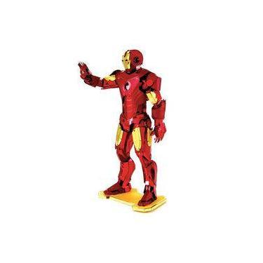 Imagem de Iron Man / Homem de Ferro - Miniatura para Montar Metal Earth - Avengers / Vingadores