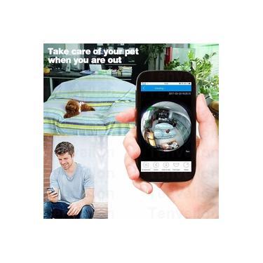 Câmera Ip 360 Externa Wifi Prova D'água Acesso Remoto Onvif