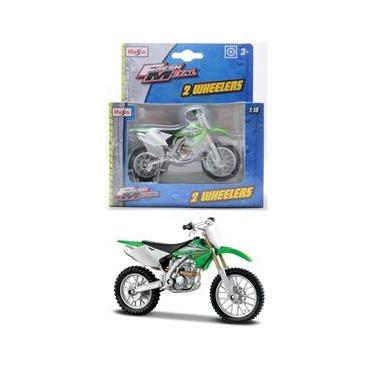 Imagem de Moto Kawasaki KX250F - 2 Wheelers - Fresh Metal - 1/18 - Maisto