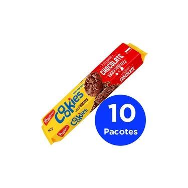 Pacote Com 10 Cookies Bauducco 100g
