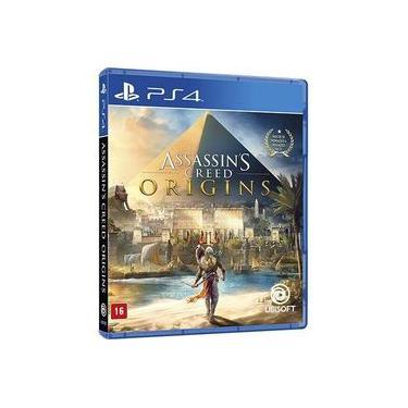Assassins Creed Origins - Jogo PS4 (Dublado em Português)
