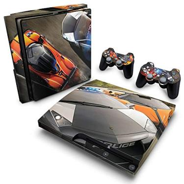 Skin Adesivo para PS3 Slim - Need For Speed Hot Pursuit