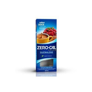Adoçante Zero Cal Sucralose em Gotas 100ml