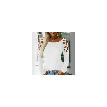Vestido feminino vintage de manga longa com decote em V dona de casa estampado de renda