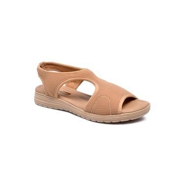 Sandalia Comfort Flex Nude Feminino 19-51404