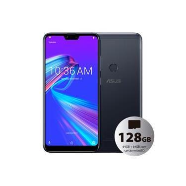 Celular Asus Zenfone Max Shot 128GB (64GB+64GB) 4GB Dual Tela 6.2 Barato Octa-Core Menor Preço Preto