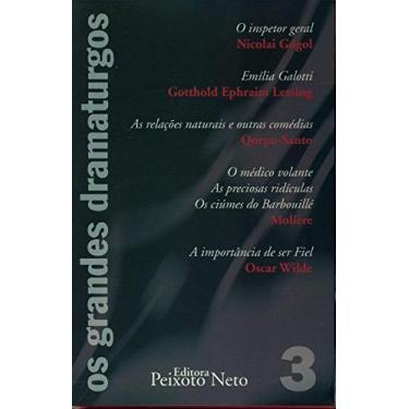 """Box Coleção """"os Grandes Dramaturgos"""" Vol 3 - Diversos - 9788588069381"""