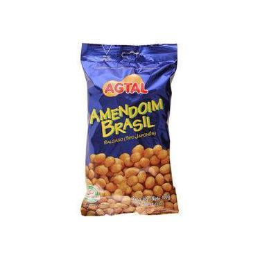 Amendoim Brasil Salgado Japonês Agtal - 500g