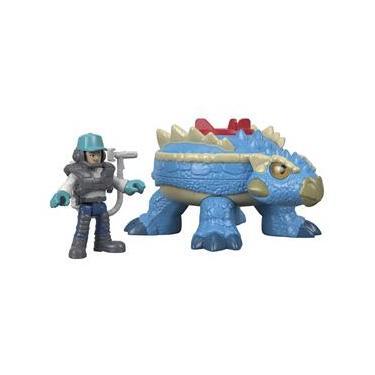 Figura Imaginex Jurassic World Ankylosaurus - Mattel